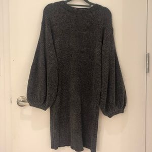 e7fb84f0fbd Something Navy Dresses - SOMETHING NAVY  Shimmer Sweater Dress • Size XS